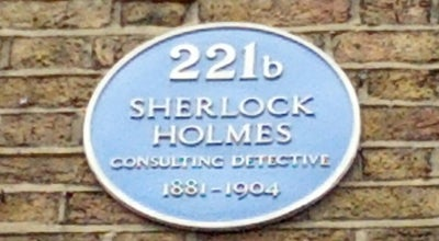 Photo of Building 221b Baker Street at 221b Baker St, Westminster W1U, United Kingdom