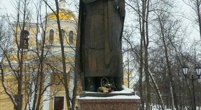 Photo of Monument / Landmark Памятник Александру Невскому at Голиковский Парк, Petrozavodsk, Russia