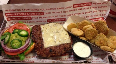 Photo of Burger Joint Smashburger at 501 3rd Pl, Manhattan, KS 66502, United States