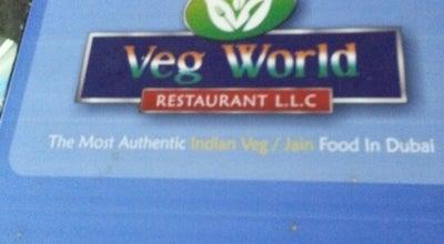 Photo of Vegetarian / Vegan Restaurant Veg World Restaurant at United Arab Emirates