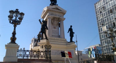 Photo of Historic Site Monumento a los Héroes de Iquique at Plaza Sotomayor, Valparaíso, Chile