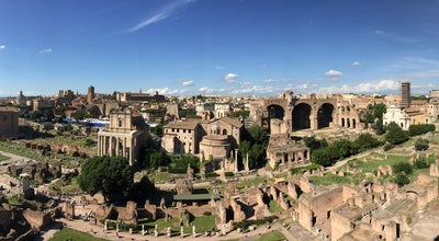 Photo of Scenic Lookout Palatine Hill at Rome, Italy
