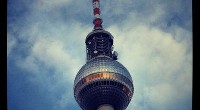Photo of Monument / Landmark Berliner Fernsehturm at Panoramastr. 1, Berlin 10178, Germany