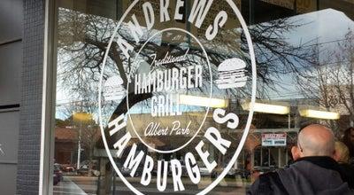 Photo of Burger Joint Andrew's Hamburgers at 144 Bridport St, Albert Park, VI 3206, Australia