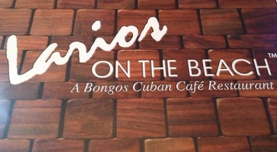 Photo of Cuban Restaurant Larios on The Beach at 820 Ocean Dr, Miami Beach, FL 33139, United States