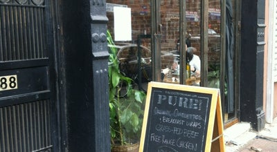 Photo of New American Restaurant Pure Bistro at 88 5th Ave, Brooklyn, NY 11217, United States