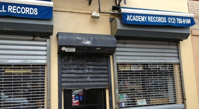Photo of Record Shop Academy Records at 415 E 12th St, New York, NY 10009, United States