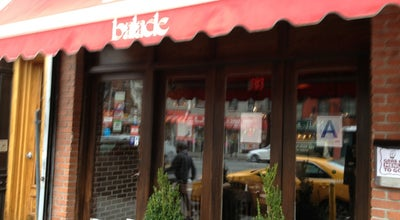 Photo of Middle Eastern Restaurant Balade - Eastern Mediterranean at 208 1st Ave, New York, NY 10009, United States