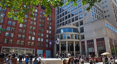 Photo of College Academic Building NYU Stern School of Business at 44 W 4th St, New York, NY 10012, United States