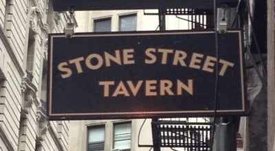 Photo of Pub Stone Street Tavern at 52 Stone St, New York, NY 10004, United States