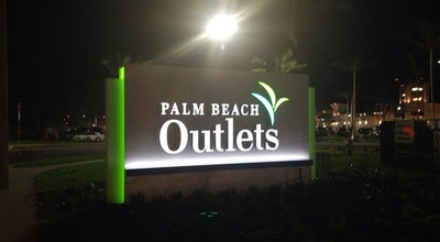 Photo of Outlet Store Palm Beach Outlets at 1751 Palm Beach Lakes Blvd, West Palm Beach, FL 33401, United States