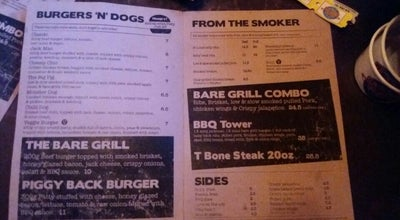 Photo of BBQ Joint Bare Grills at 3 Richmond St BS23 1SX, United Kingdom