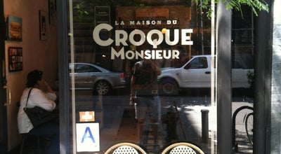 Photo of French Restaurant La Maison du Croque Monsieur at 17 E 13th St, New York, NY 10003, United States
