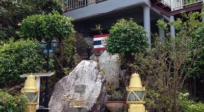 Photo of Monument / Landmark ศาลกรมหลวงชุมพรเขตอุดมศักดิ์ ประภาคารแหลมสิงห์ at Laem Sing, Thailand