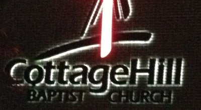Photo of Church Cottage Hill Baptist Church at 4255 Cottage Hill Rd, Mobile, AL 36609, United States