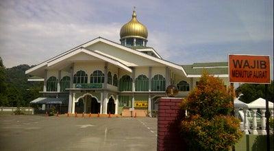 Photo of Mosque Masjid Tunku Puan Habsah Padang Temusu Sg Petani at Padang Temusu, Sungai Petani, Malaysia