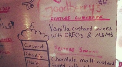Photo of Ice Cream Shop Goodberry's Frozen Custard at 1146 Kildaire Farm Rd, Cary, NC 27511, United States