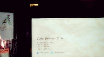 Photo of Steakhouse Cafe Bunga Bali at Jalan Ungaran No. 22, Malang, Indonesia