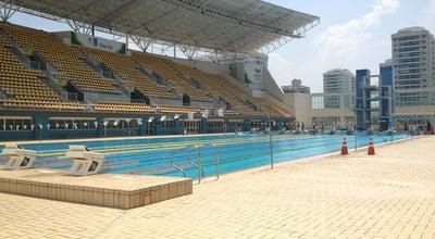 Photo of Water Park Parque Aquático Maria Lenk at Av. Emb. Abelardo Bueno, 3401, Rio de Janeiro, Brazil