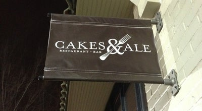 Photo of New American Restaurant Cakes & Ale Restaurant at 155 Sycamore St, Decatur, GA 30030, United States