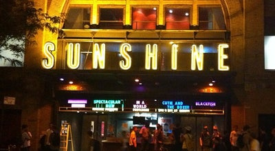 Photo of Indie Movie Theater Landmark Sunshine Cinema at 143 E Houston St, New York, NY 10002, United States