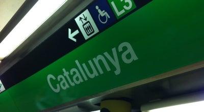 Photo of Subway METRO Catalunya at Plaça Catalunya, Barcelona 08002, Spain