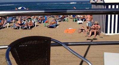 Photo of Cafe Gelizia Beach at Paseo De Las Canteras, 11, Las Palmas de Gran Canaria, Spain