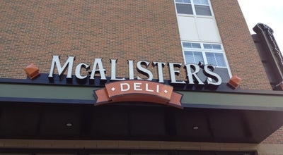 Photo of Restaurant McAlister's Deli at 1130 E Angela Blvd, South Bend, IN 46617, United States