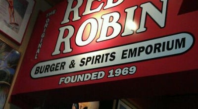 Photo of Burger Joint Red Robin Gourmet Burgers at 5537 S Williamson Blvd, Port Orange, FL 32128, United States