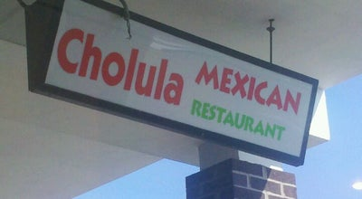 Photo of Mexican Restaurant Cholula's at 44, Shelbyville, IN 46176, United States