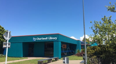 Photo of Library Chartwell Library at Lynden Court, Chartwell, New Zealand