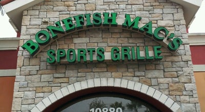 Photo of American Restaurant Bonefish Mac's Sports Grille at 10880 Forest Hill Blvd, Wellington, FL 33414, United States