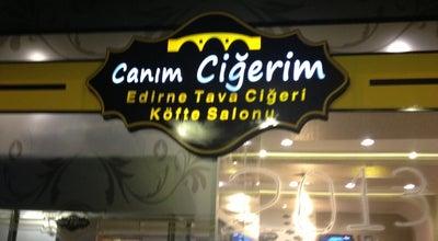 Photo of Turkish Restaurant Canım Ciğerim Edirne Tava ve Köfte Salonu at Dumlupınar Cad. Kılıçoğlu Danış Towers C Blok No:4, Çorlu 59860, Turkey