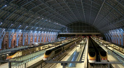 Photo of Train Station London St Pancras Eurostar Terminal at Pancras Rd, London NW1 2QP, United Kingdom