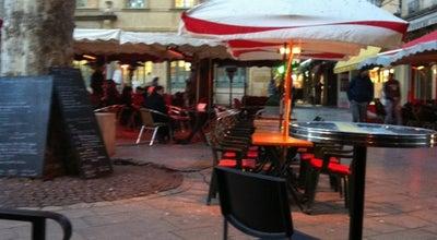 Photo of Cafe Bar de l'Horloge at Place Richelme, Aix en Provence, France
