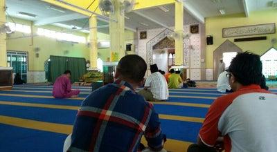 Photo of Mosque Masjid Jamek Pasir Panjang at Si Rusa, Malaysia