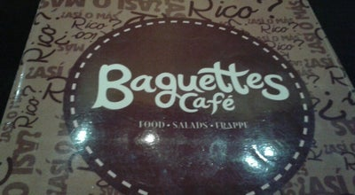 Photo of Cafe Baguettes Café at Circuito Colonias, Mérida, Mexico