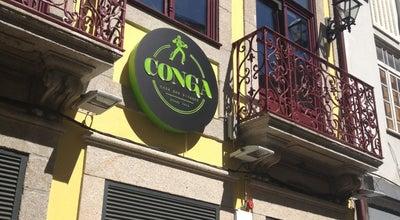 Photo of Portuguese Restaurant Conga - Casa das Bifanas at R. Do Bonjardim, 314-318, Porto 4440-452, Portugal