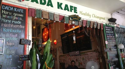 Photo of Vegetarian / Vegan Restaurant Dada Kafe at Ratmakka Rd 20/1, Mueang Chiang Mai 50200, Thailand