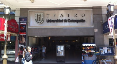 Photo of Theater Teatro Universidad de Concepción at Av. O'higgins 650, Concepción, Chile