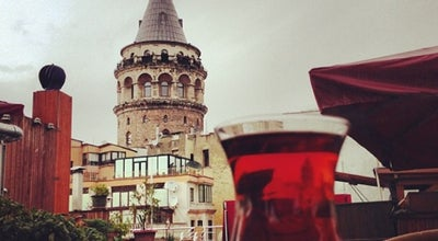 Photo of Cafe Galata Konak Cafe & Restaurant at Bereketzade Mah. Hacı Ali Sok. No: 2 Kuledibi, Beyoğlu 34420, Turkey