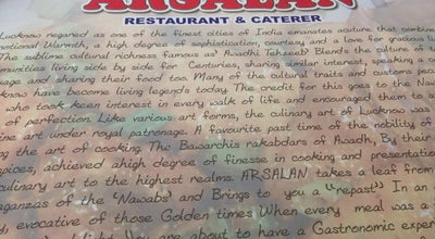 Photo of Middle Eastern Restaurant Arsalan at 119a, Muzaffar Ahmed St, Kolkata 700016, India
