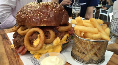 Photo of Burger Joint Longboards Laidback Eatery and Bar at 9 Hamilton Ave, Surfers Paradise, Qu 4217, Australia