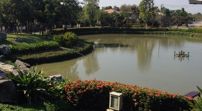 Photo of Lake The Lake at Nantawan Village at Bang Mueang, Thailand