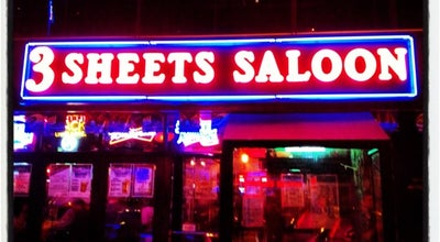Photo of Bar 3 Sheets Saloon at 134 W 3rd St, New York, NY 10012, United States