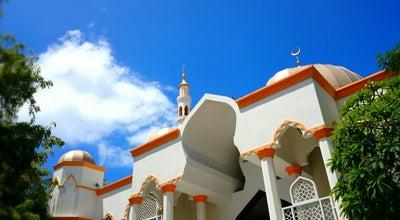 Photo of Mosque Masjid Al-Sultan Muhammad Bin Abdullah at Ameenee Magu, Malé, Maldives