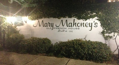 Photo of Cajun / Creole Restaurant Mary Mahoney's Old French House at 116 Rue Magnolia, Biloxi, MS 39530, United States