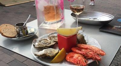 Photo of Seafood Restaurant Bar de la Marine at 1 Quai De L'amiraute, Collioure 66190, France