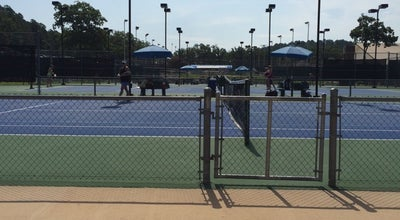 Photo of Tennis Court Burns Park Tennis Center at 4000 Joe Poch Rd, North Little Rock, AR 72118, United States