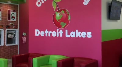 Photo of Ice Cream Shop CherryBerry Yogurt Bar at Veterans Memorial Pkwy, Detroit Lakes, MN 56501, United States